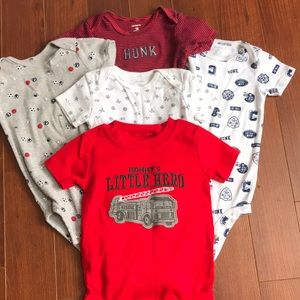 5-Pack 18month Bodysuits